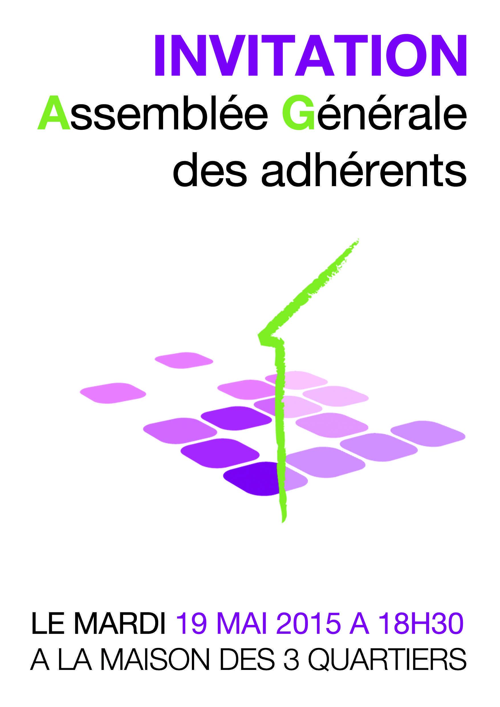 Mardi 19 mai à 18h30 / Assemblée Générale de la M3Q