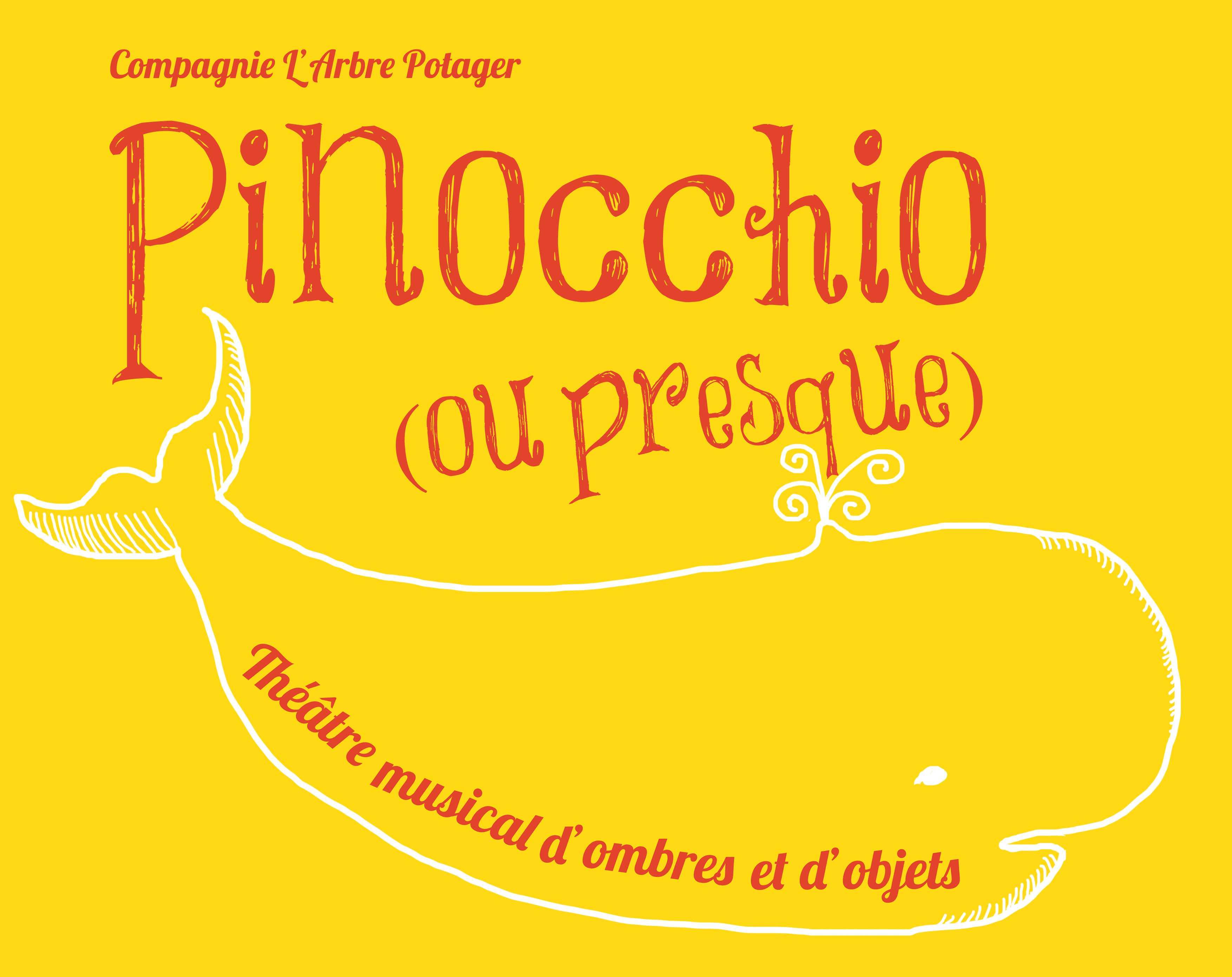 """Vendredi 19 février à 17h30 / """"Pinocchio"""" Cie L'arbre Potager"""