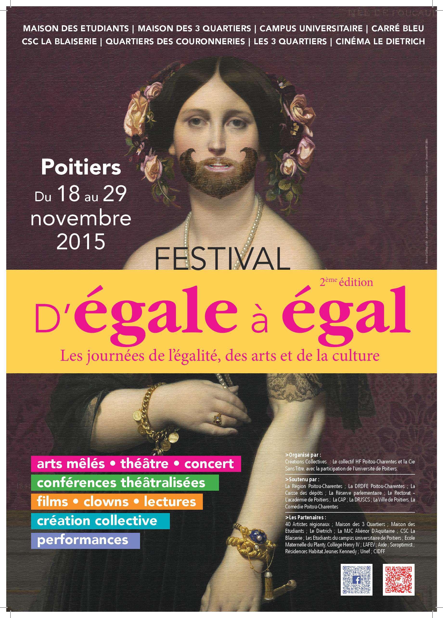 Du 18 au 29 novembre / Festival d'Egale à Egal