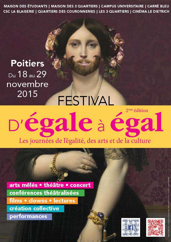 Festival d'Egale à Egal / Erratum samedi 28 novembre 21h15