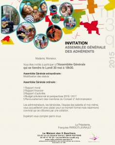 invitation AG 30 mai